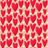 цветет картина сердец безшовная Стоковое Фото