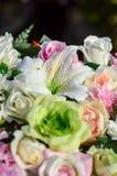 Цветет красивый орнамент в свадьбе Стоковые Фотографии RF