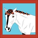 цветет лошадь Стоковая Фотография