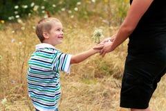 цветет мама Стоковые Изображения