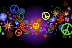цветет мир Стоковые Изображения RF