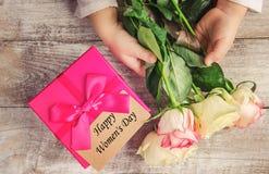 цветет подарок Стоковые Фотографии RF