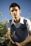 цветет подросток Стоковая Фотография RF