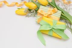 цветет подарки стоковое фото