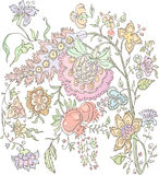 Цветет предпосылка Стоковые Фото
