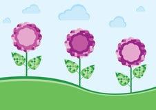 цветет пурпур бесплатная иллюстрация