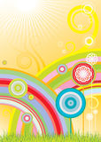 цветет радуги Стоковая Фотография RF