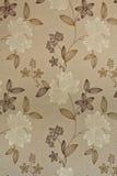 цветет ретро обои Стоковое Изображение RF