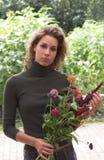 цветет свежая девушка милая Стоковое фото RF