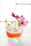 цветет стекло Стоковое Изображение RF