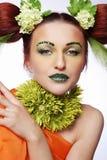 цветет тип волос Стоковые Фото