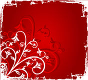 цветет grunge Стоковые Фото