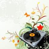 цветет turntable Стоковое Изображение RF