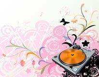 цветет turntable Стоковые Изображения RF