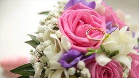 цветка dof букета розы пункта центрального фокусные низкие wedding Букет ` s невесты на день свадьбы цветки букета различные Буке Стоковая Фотография
