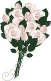 цветка dof букета розы пункта центрального фокусные низкие wedding Стоковая Фотография