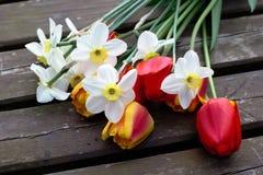 Цветки букета весны Стоковая Фотография RF