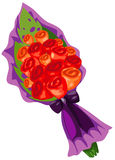 цветки букета подняли бесплатная иллюстрация