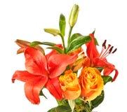 цветки букета Стоковое Изображение