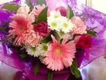 Цветки весны букета довольно розовые Стоковая Фотография RF