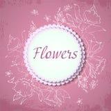 Цветки весны вектора daffodilsbanner иллюстрация вектора