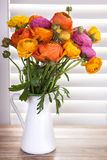 Цветки в вазе Стоковое Изображение RF