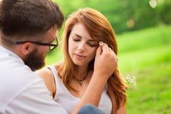 Цветки в ваших волосах стоковое изображение