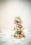 Цветки в корзине Стоковое Фото