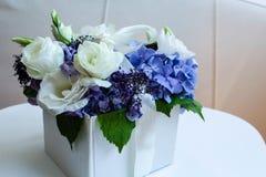 Цветки в коробке Стоковые Изображения