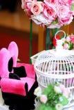 Цветки в некотором баке стоковое фото rf
