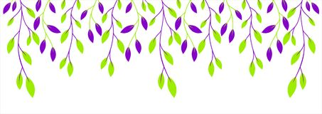 Цветки в траве Стоковые Фото