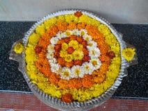 Цветки в шаре стоковая фотография rf