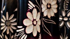 Цветки гравировки стоковая фотография rf