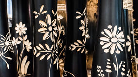 Цветки гравировки стоковое фото