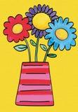 цветки довольно Стоковое Изображение RF