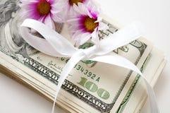 цветки долларов смычка Стоковое Изображение RF