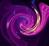 Цветки звезды завихряют конспект на предпосылке Стоковое фото RF