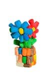 Цветки игрушки Стоковые Фотографии RF