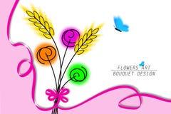 цветки искусства Стоковая Фотография RF