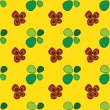 Цветки и листья Стоковая Фотография RF
