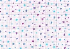 Цветки и потоки иллюстрация вектора