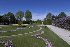 Цветки и расположения Стоковое фото RF
