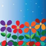 Цветки и свет Стоковое фото RF