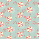 Цветки и текстура ветвей Стоковое Изображение