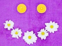Цветки и candels Стоковое Изображение RF
