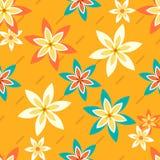 Цветки и Stripes2-01 Стоковое Изображение