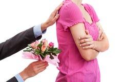 Цветки как утешение Стоковое Изображение RF