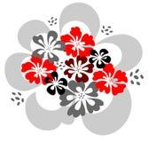 цветки конструкции Стоковые Фото