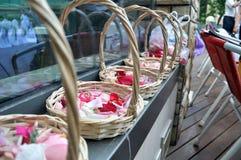 цветки корзины Стоковые Изображения RF