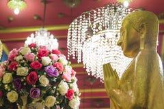 Цветки, ладан Будда стоковые изображения